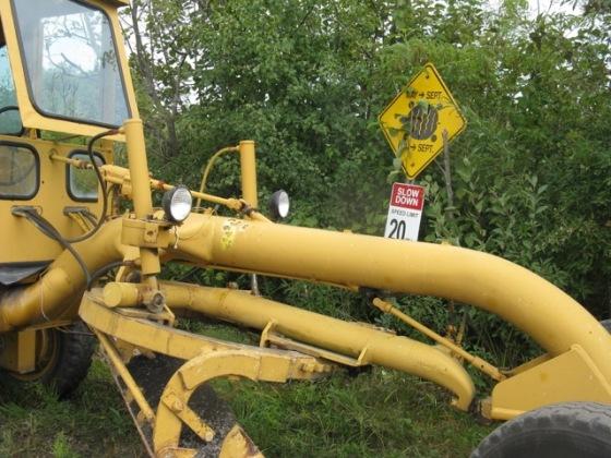 Heavy road machinery